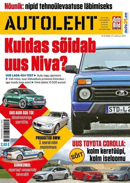 Autoleht, 27. veebruar. Foto: Autoleht