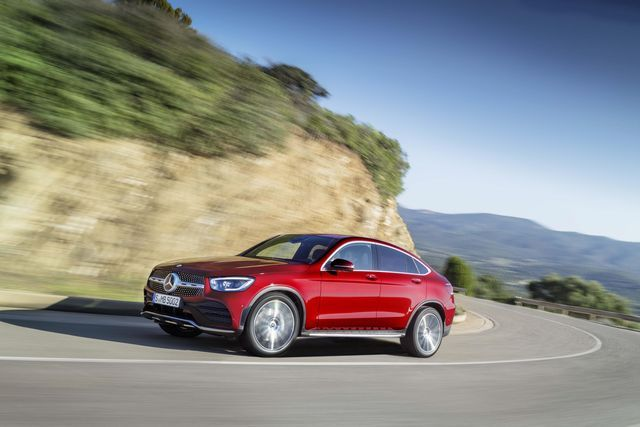 Mercedes-Benz GLC Coupe. Foto: Daimler
