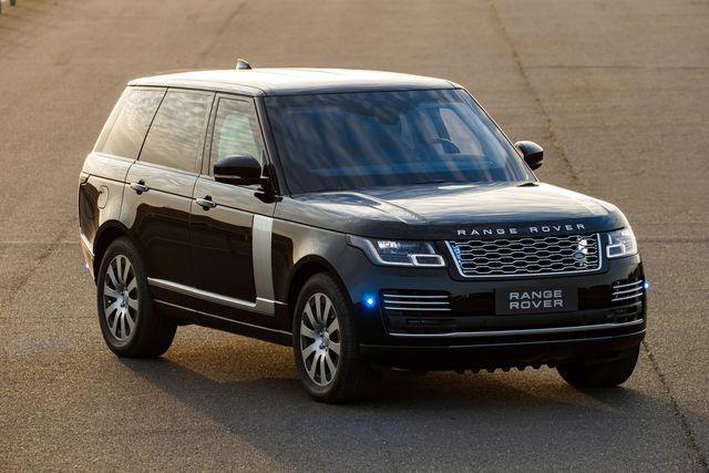 Range Rover Sentinel. Foto: Jaguar Land Rover