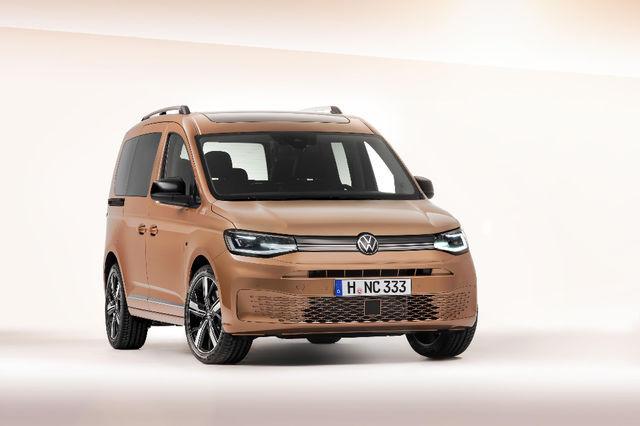 Volkswagen Caddy. Foto: Volkswagen