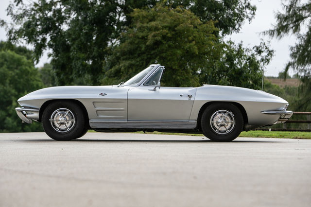 Chevrolet Corvette Stingray 1963. Foto: Silverstone Auctions