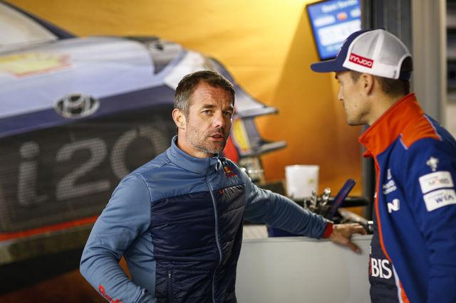 Sebastien Loeb ja Dani Sordo. Foto: Hyundai Motorsport
