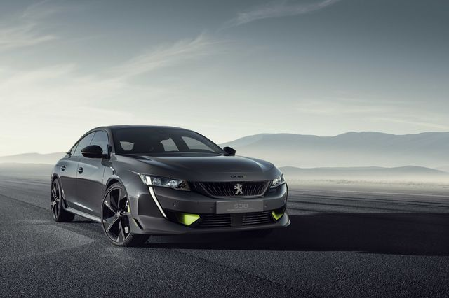 Peugeot 508 Sport Engineered Concept. Foto: Peugeot