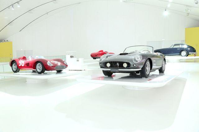 Enzo Ferrari muuseum. Foto: Ferrari
