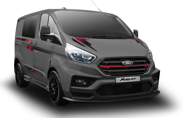 MS-RT R185 Ford Transit Custom. Foto: MS-RT