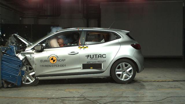 Renault Clio. Foto: Euro NCAP