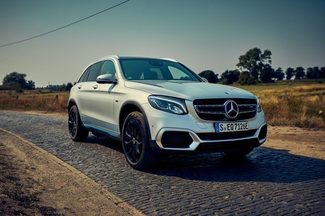Mercedes-Benz GLC F-Cell. Foto: Daimler