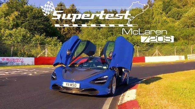 McLaren 720S. Kaader: Youtube