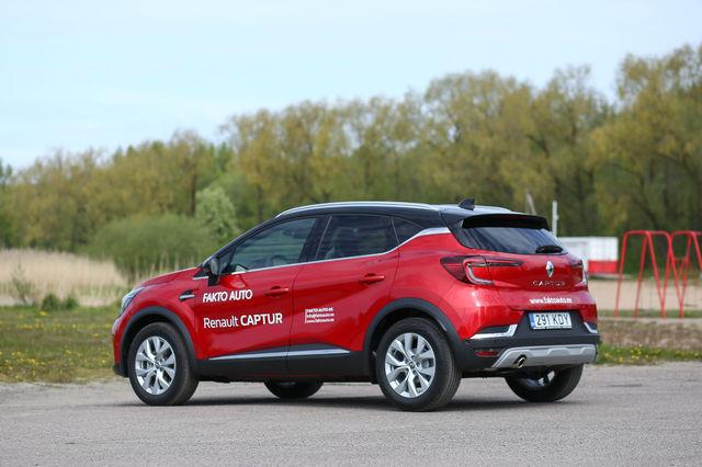 Renault Captur. Foto: Laas Valkonen