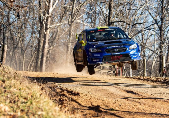 Oliver Solberg. Foto: 100 Acre Wood Rally