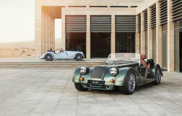 Morgan Plus Six. Foto: Morgan