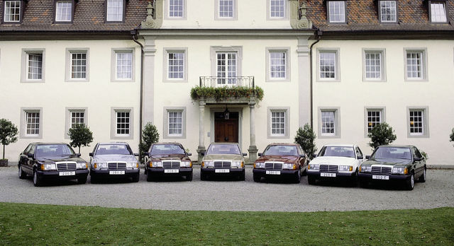 Mercedes-Benz W124. Foto: Mercedes-Benz