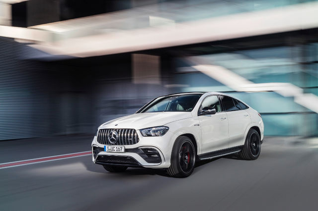 Mercedes-AMG GLE 63 4Matic Coupe. Foto: Mercedes