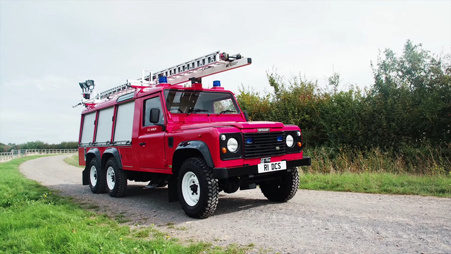 Land Rover Defender 6x6. Foto: Jaguar Land Rover