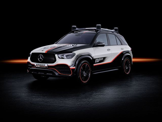 Mercedes-Benz Experimental Safety Vehicle ESF 2019. Foto: Mercedes-Benz