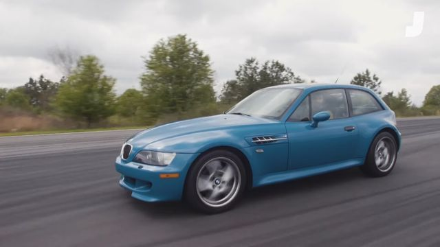 BMW Z3 M Coupe. Kaader: Youtube