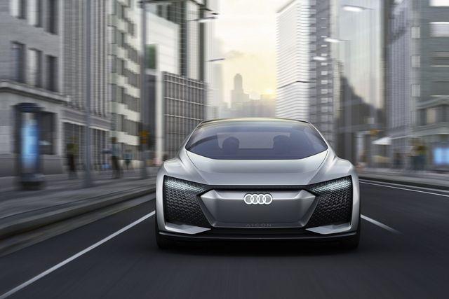 Ideeauto Audi Aicon. Foto: Audi