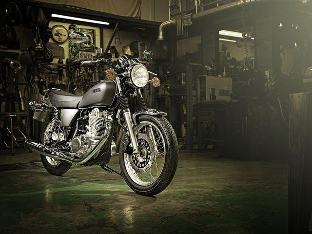 Yamaha SR 400. Foto: Yamaha