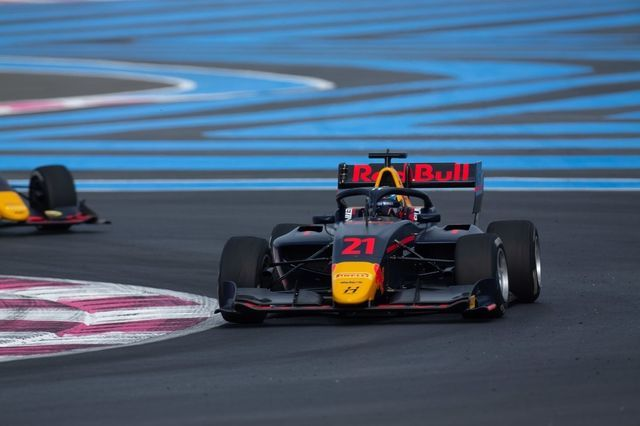 Jüri Vips. Foto: Joe Portlock / FIA F3