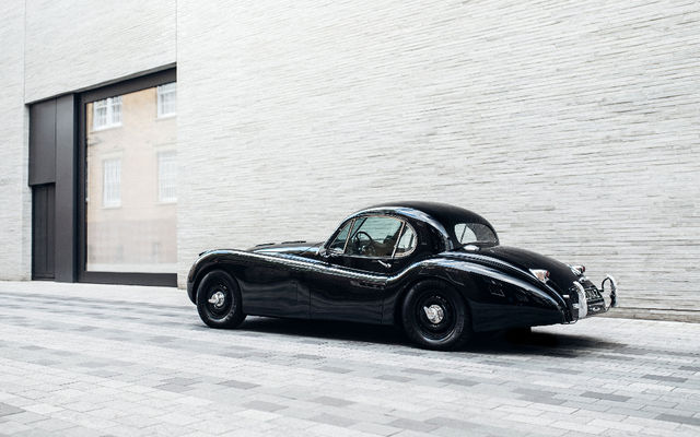 Jaguar XK120 by Lunaz. Foto: Lunaz