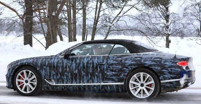 Bentley Continental GTC. Kaader: Youtube