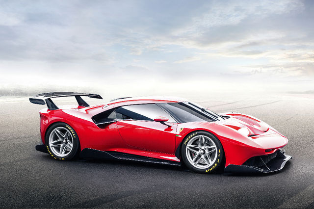 Ferrari P80/C. Foto: newspress.co.uk