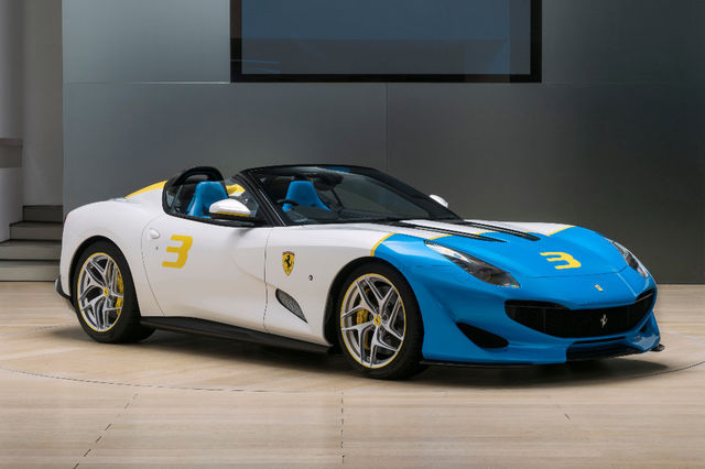 Ferrari SP3JC. Foto: newspress.co.uk