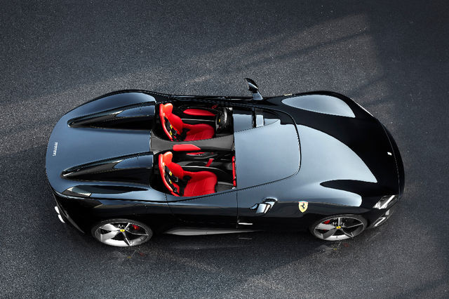 Ferrari Monza SP2. Foto: newspress.co.uk