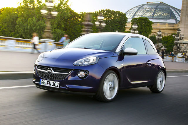 Opel Adam. Foto: Opel