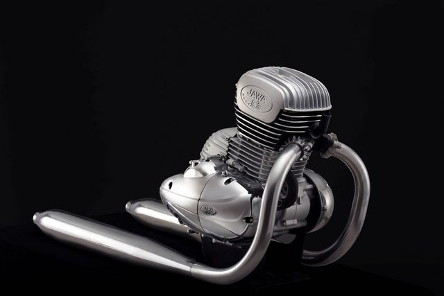 Uus Jawa mootor. Foto: Jawa