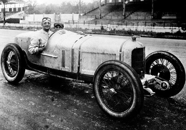 Enzo Ferrari sõitjakarjääri üks edukamaid aastaid oli 1924, mil ta saavutas mitmeid võite, nende seas ka Coppa Acerbol. Foto: Ferrari