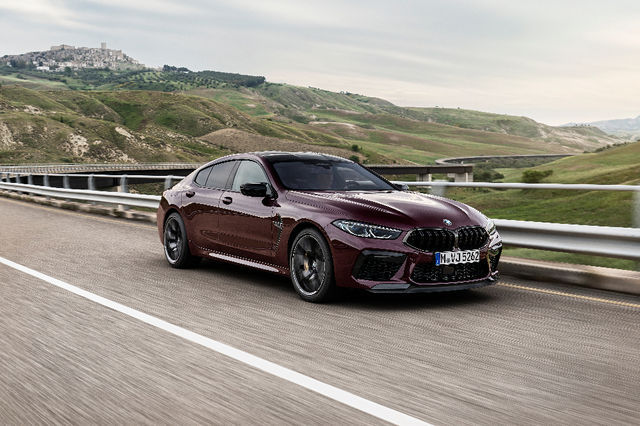 BMW M8 Gran Coupe. Foto: BMW