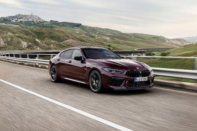 BMW M8 Gran Coupe. Foto: BMW