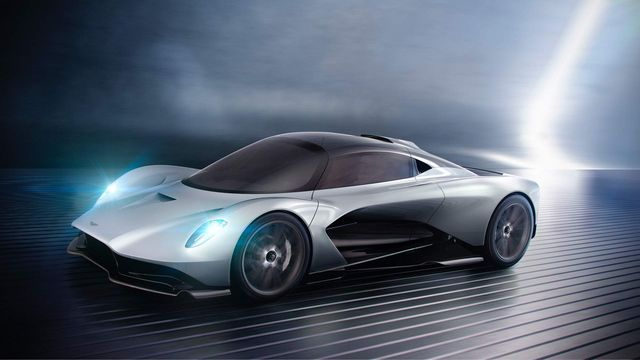AM-RB 003 Concept. Foto: Aston Martin