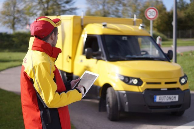 Streetscooter. Foto: Deutsche Post
