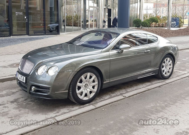 Bentley Continental GT. Foto: auto24.ee