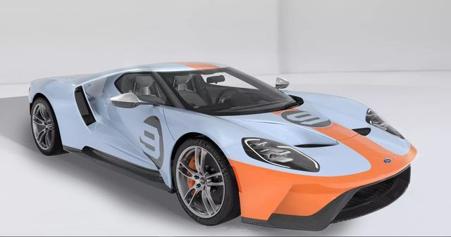 Ford GT Heritage Edition. Foto. Ford