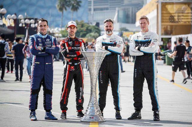 WTCR sarja tiitlipretendendid. Foto: FIA WTCR