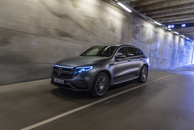 Mercedes-Benz EQC. Foto: Mercedes-Benz