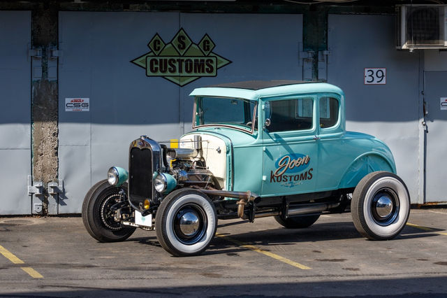1930 Ford street rod. Foto: Pille Russi