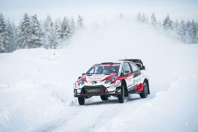 Kalle Rovanperä testikatsel. Foto: Taneli Niinimäki / AKK