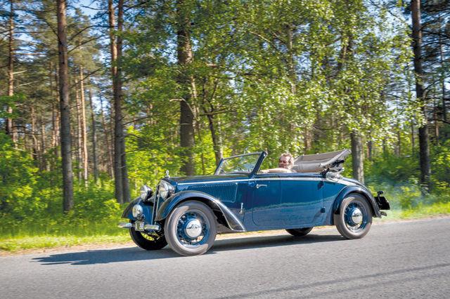 Wachsmuthi keretehas sulges uksed 1938. aasta juulis. Sestap jõutigi seal teha vaid käputäis kahekohalisi DKW kabriolette. Foto: Pille Russi