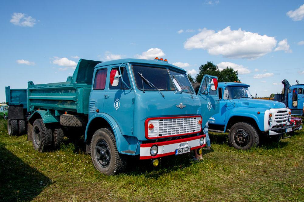 FOTOD JA VIDEO. Vanade veoautode kokkusaamine