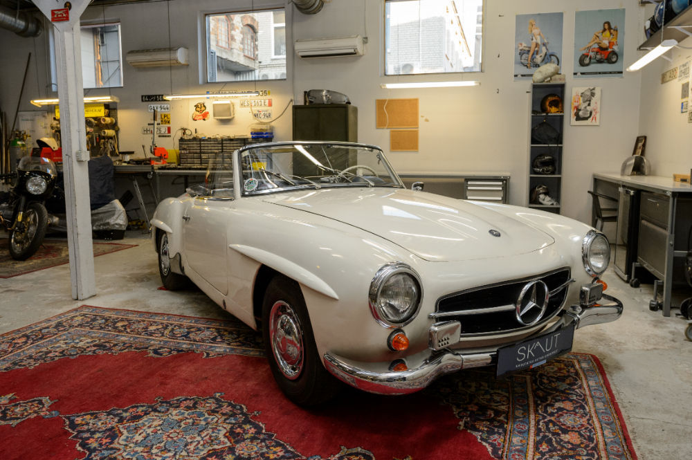 Eestisse jõudis 1962. aasta Mercedes 190 SL