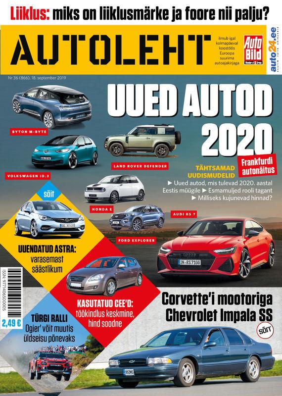 Autoleht, 18. september 2019