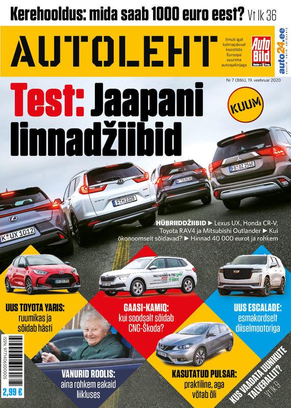 Autoleht, 19. veebruar 2020