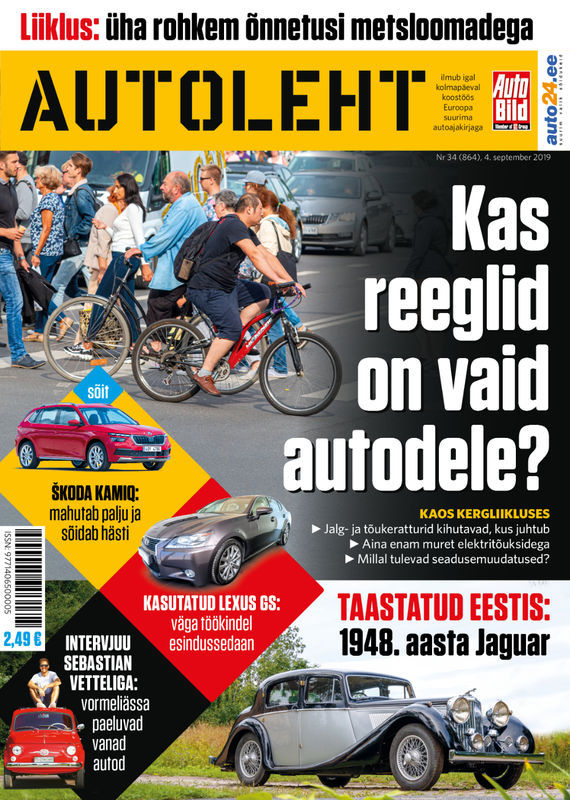 Autoleht, 4. september 2019