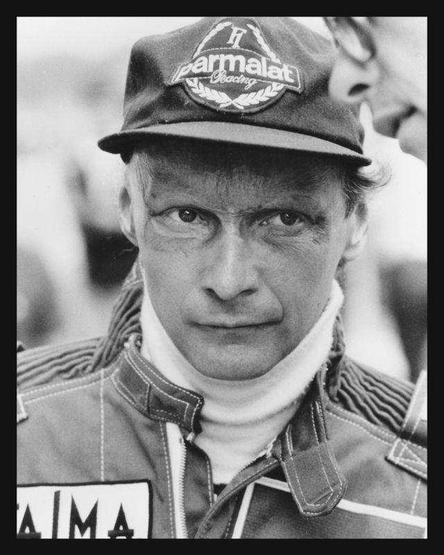 Niki Lauda võitis kolm maailmameistritiitlit ning tuli tagasi rajale avariist, mis võinuks olla traagilise lõpuga.  Foto: Rein Luige arhiiv