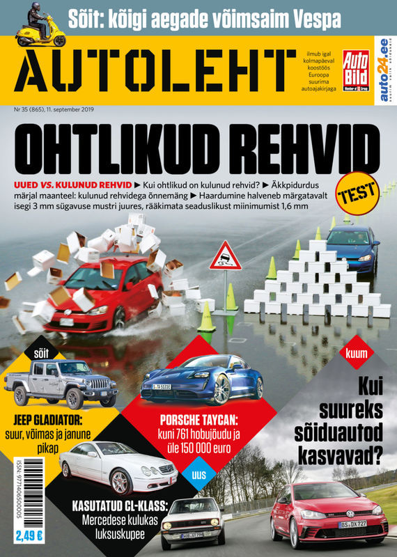 Autoleht, 11. september 2019