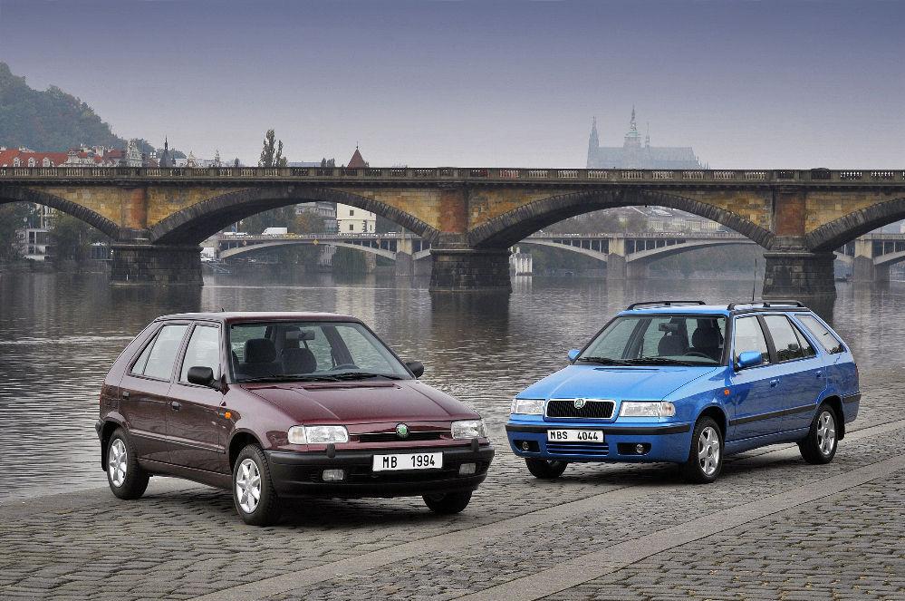 Škoda Felicia tähistab 25. sünnipäeva